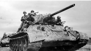 Т-34 основной танк советских войск во второй мировой войне