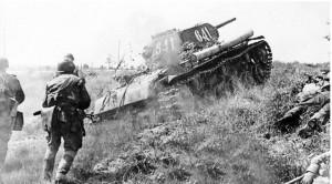 Курская битва. Наступление Т-34
