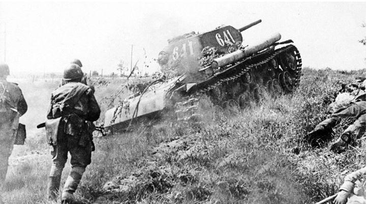 Курская битва. Наступление Т-34.