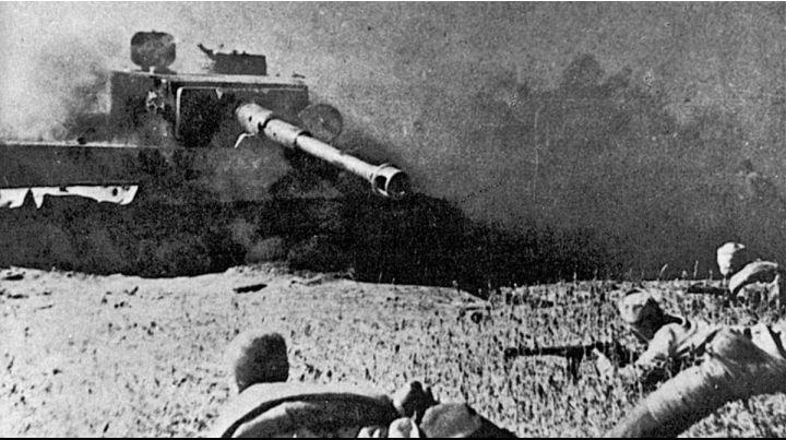 Курская битва. Отвоевался тигр.