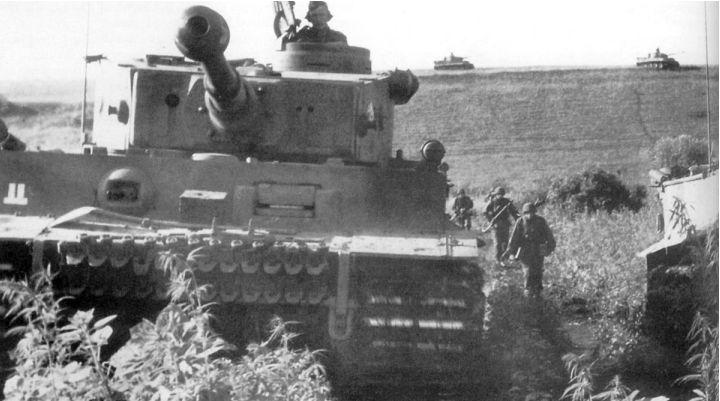 Курская битва. Наступление Тигров.