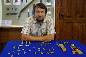 Александр Зорин, археолог Курского музея археологии