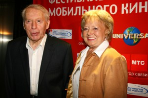 Режиссер Сергей Колосов с супругой