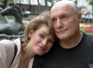 актер Александр Пороховщиков с женой Ириной
