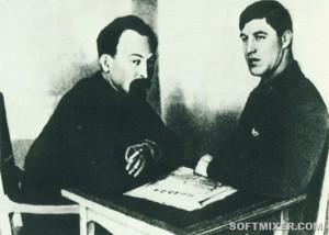 Мартынов, глава сыскной милиции (уголовного розыска) Москвы и Дзержинский Председатель ВЧК